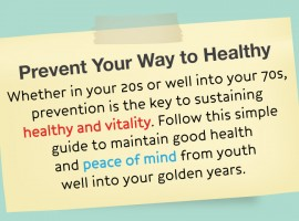 Prevent Your Way to Healthy