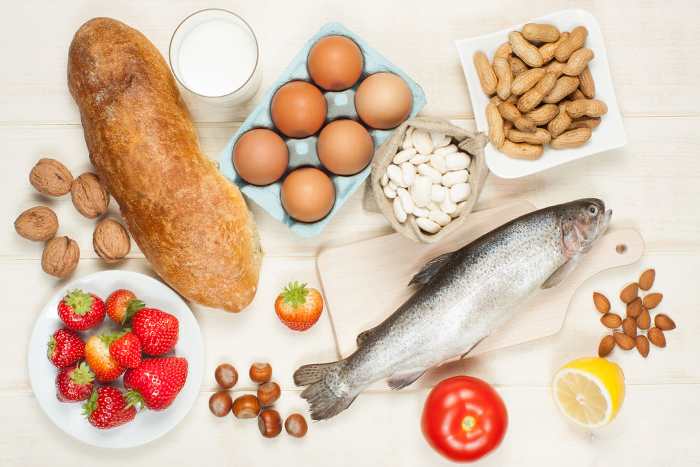 Take the bite out of food allergies during allergy for Allergy eater fish