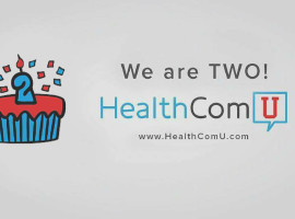 HealthComU-Anniversary-Communication-Health-Boston-University-Cake