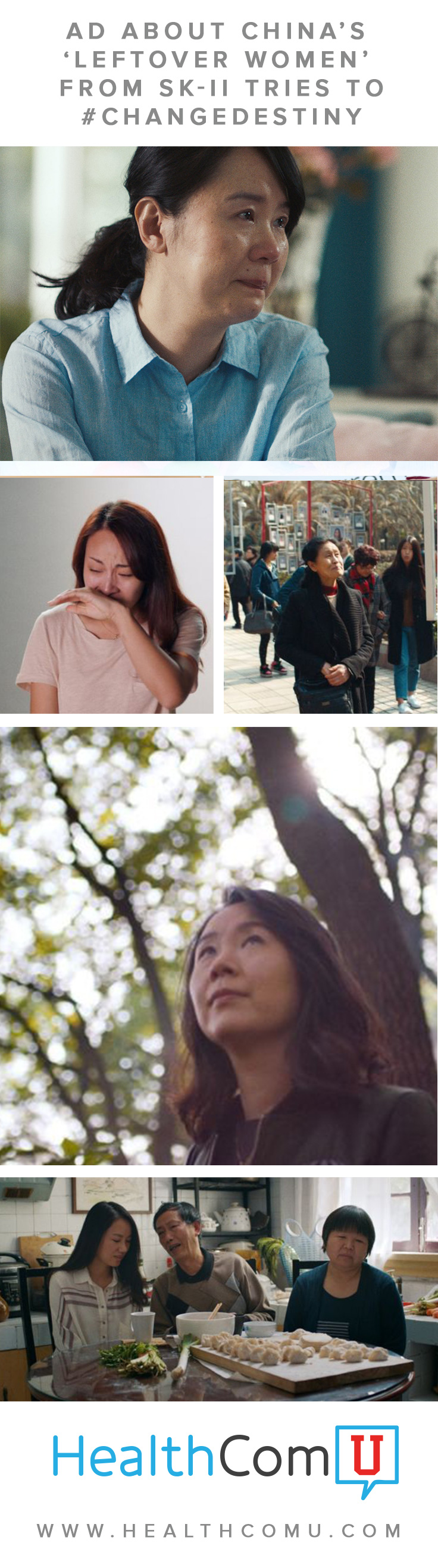 Ad about China's 'Leftover Women' from SK-II tries to #ChangeDestiny