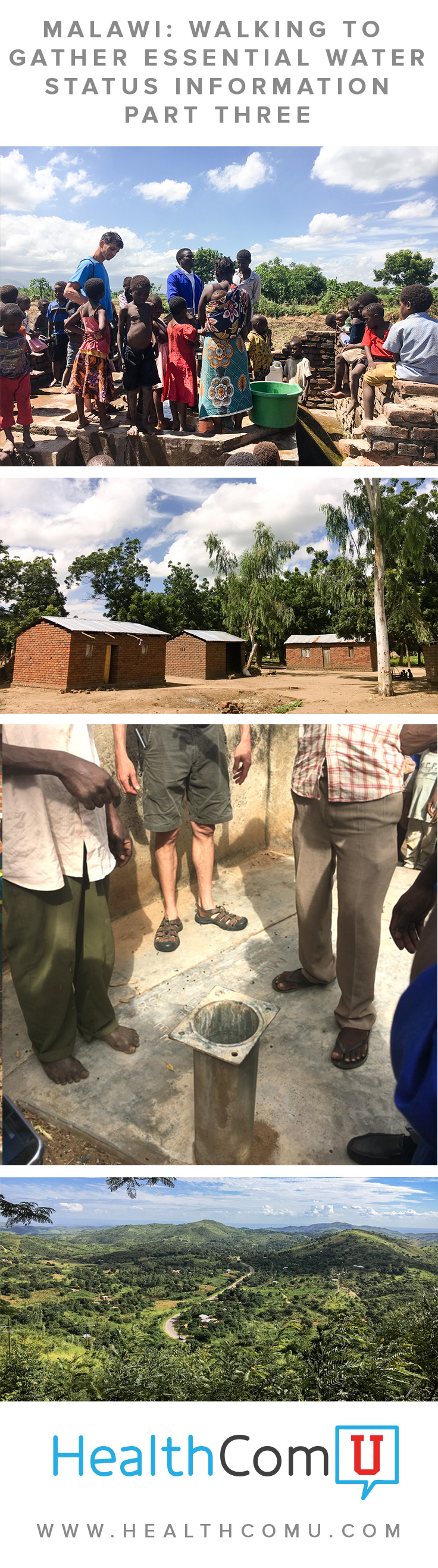 Malawi: Walking to Gather Essential Water Status Information: Part Three | HealthComU