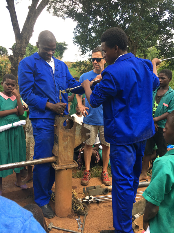 Water-Pump-Third-World-Country-Malawi-Africa-Children-Crisis-Education