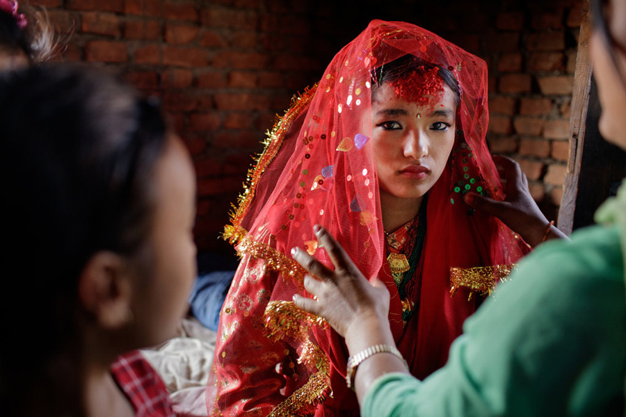 Child-Brides-Nepal-Marriage-Young-Women-NGO-UNICEF-Family