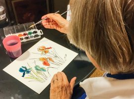 Art-Classes-Painting-Watercolor-Retirement-Community-Older-Retire-Elderly-Maryland
